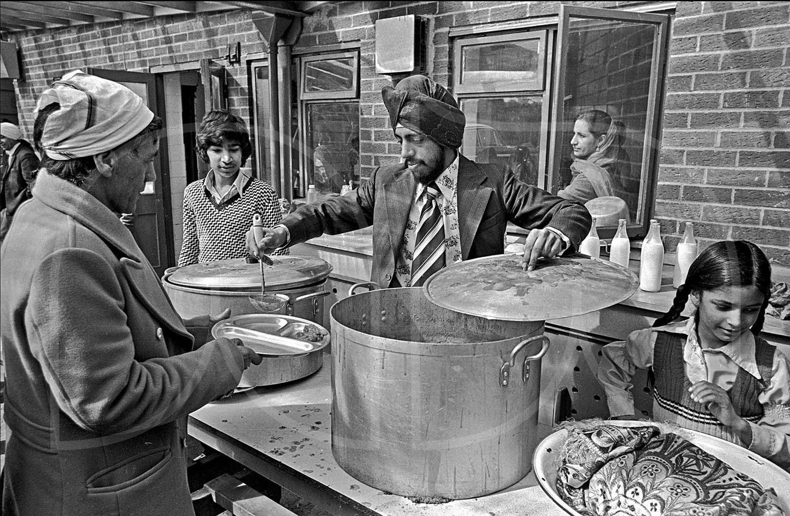 A Sikh Langar Wolverhampton  (1976)