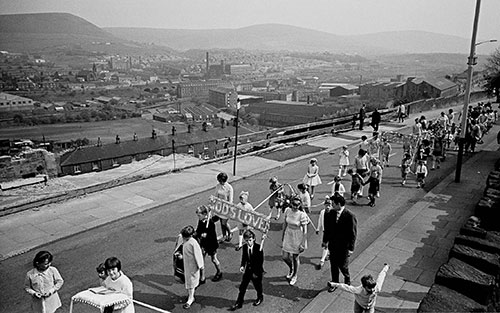 Whitsunday parade, Mossley, Lancashire