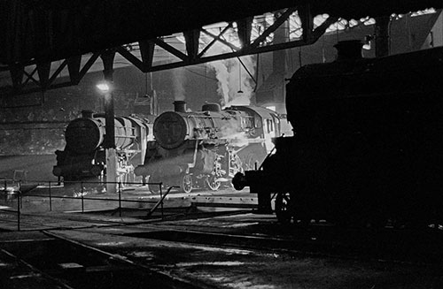 The last days of steam at the Oxley Engine sheds, Wolverhampton  (1967)