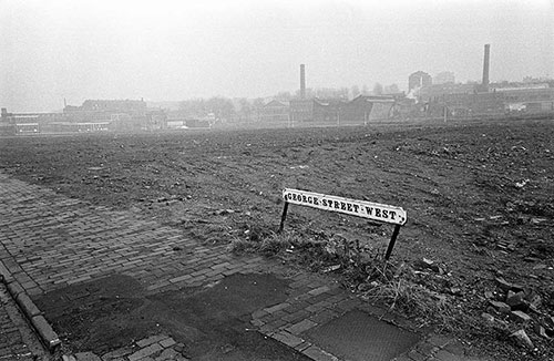 Slum clearance,All Saints Birmingham,  (1973)