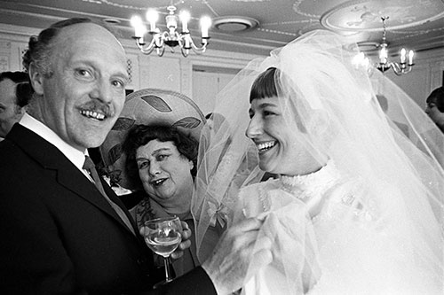 Middle class wedding London  (1970)