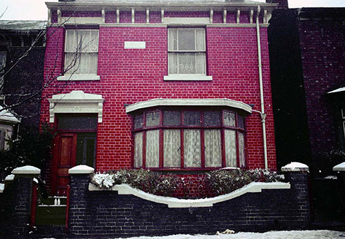 House exterior Handsworth  (1966)