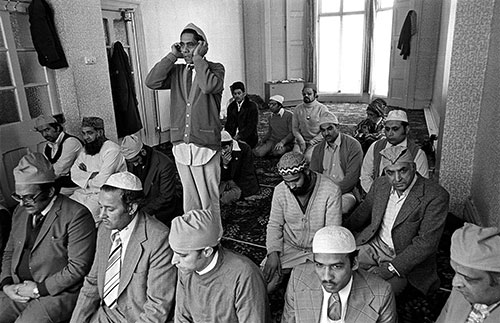 The call to prayer Mosque Wolverhampton  (1976)