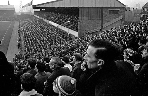 Football supporters Birmingham City  (1967)