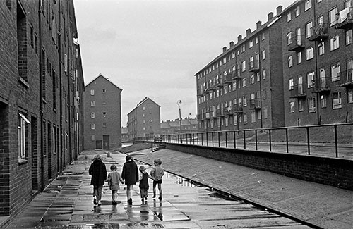 Council estate, Newcastle  (1971)