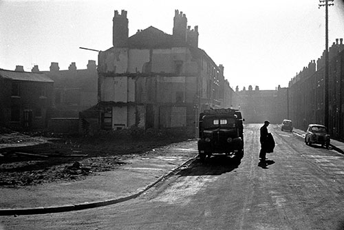 The last coal delivery, Ladywood Birmingham  (1968)