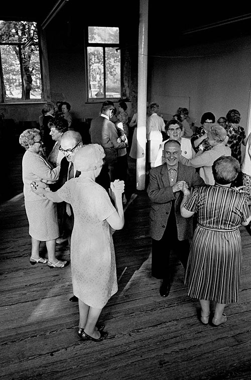 Pensioners' dance club, Burnley  (1969)
