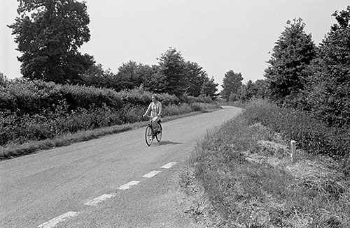 A country road, Wichenford Worcs  (1969)