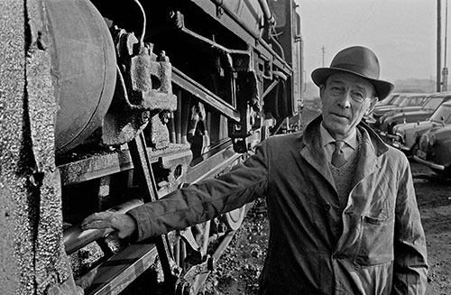 Retired train driver , Oxley engine sheds, Wolverhampton  (1967)